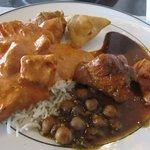 Lunch buffet plate