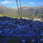 Davos from cable car station