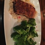 I know it is a steakhouse but... the salmon looked so good I had to try it. And it was great!  G