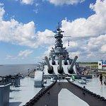 Battleship USS ALABAMA Foto