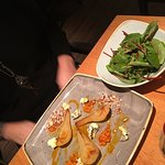 pear and balsamico salad
