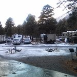 RV Area looking out from front pourch