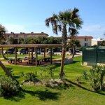 Picnic, Rec area and tennis court