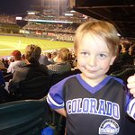 Grayson is a Rockies fan!