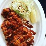 Chicken Katsu w/ Worcester Sauce at De Japanner in De Pijp, Amsterdam