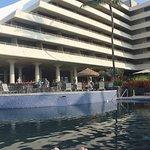 Pool and bar at Royal Kona Resort.
