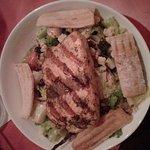 Zanzibar salmon salad