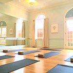 Blue Mat Yoga interior