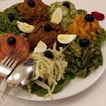 Starter of bio salad