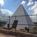 The tomb of Governor George Wylie Paul Hunt, Arizona's 1st governor.