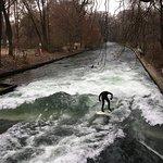 Winter surf in Munich