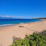 Ka'anapali Beach on a beautiful sunny day.