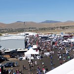 9/17/16 Pit area view from high up in grandstand.