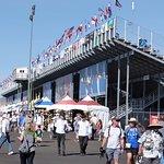 9/17/16 View of grandstands and fairway area.