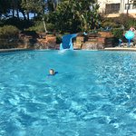 North village pool/ slide. Our kids favourite area.