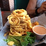 Half order of Onion rings!!!!!!!