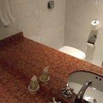 Baño secundario de la suite