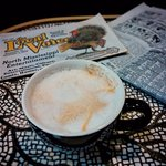 cappuccino and some local news..