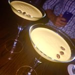 to end the night - espresso martinis