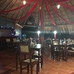The restaurant/dining room