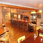 Small bar area, full bar