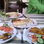 Having a meal at El Romero