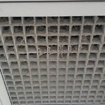 Celling Vents - Spider webs/Dust Build Up.