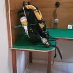 rebreather dry room