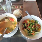 Could not have enough of the Tom Yum broth.