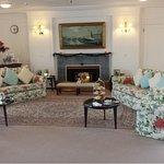 Reception Room on board, pure luxury.