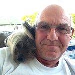 Me and ma dog jasper