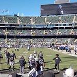 Raiders warm up
