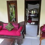 Relax on your private veranda (Deluxe Air Cottage)