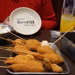 Kushikatsu goodness (set meal)