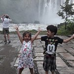Cascada de los Tuxtlas llamada El Salto de Eyipantla en Veracruz.