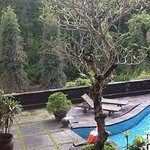Resort near Merapi Volcano