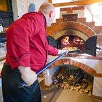 Nur 3 Minuten braucht unser Flammkuchen im Ofen