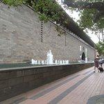Fountains Along St Kilda Road