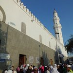 Pintu masuk masjid Quba