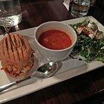 Combination Soup, Salad & Sandwich.