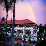 Rainbow at Cassia Cottage