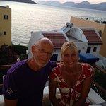 Ruth & Carl enjoying the balcony