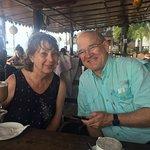 Tea time with Mum and Dad at Langi Langi