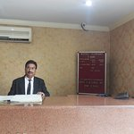 Reception of Illawart Hotel with reception executive
