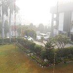 View of Lawn of Hotel Rahi Illawart
