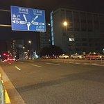 Street near the hotel