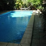 Pool looking north