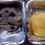 Black Currant Sheera and Pineapple Sheera