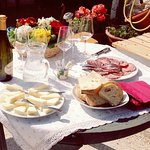 a visit to a small cheese producer in the Prosecco hills