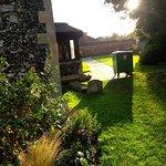 Secluded churchyard